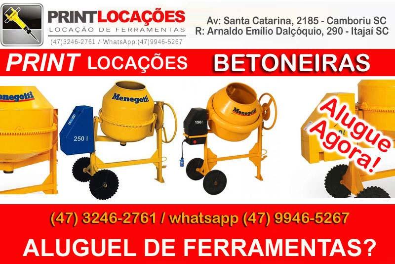 Aluguel de aspirador de pó industrial Balneário Camboriú
